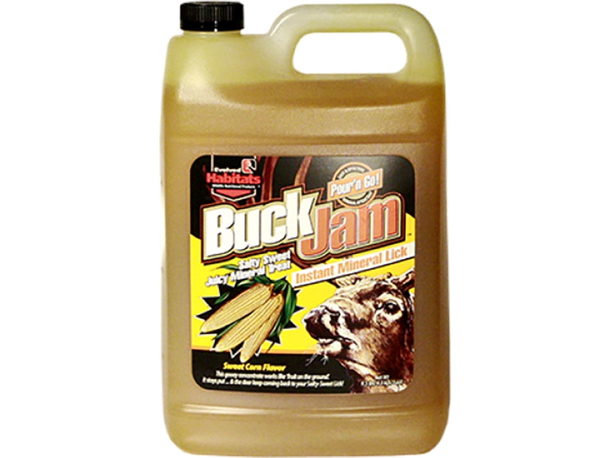 Evolved Habitats Buck Jam Deer Attractant Liquid 1 Gallon