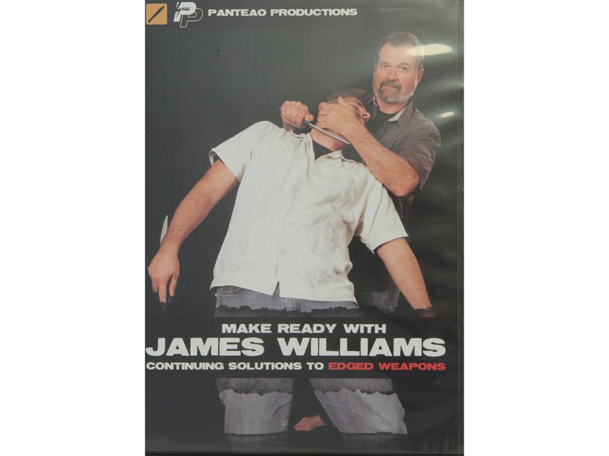 "Panteao ""Make Ready with James Williams:  Continuing Solutions to Edged Weapons"" DVD"