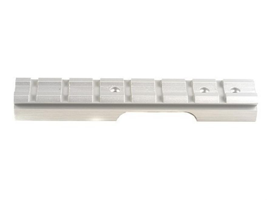 Power Custom 1-Piece Weaver-Style Base Ruger Mark II Silver