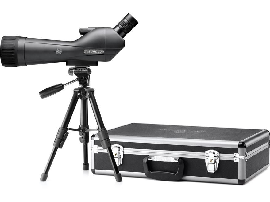 Leupold SX-1 Ventana 2 Spotting Scope 20-60x 80mm Gray/Black