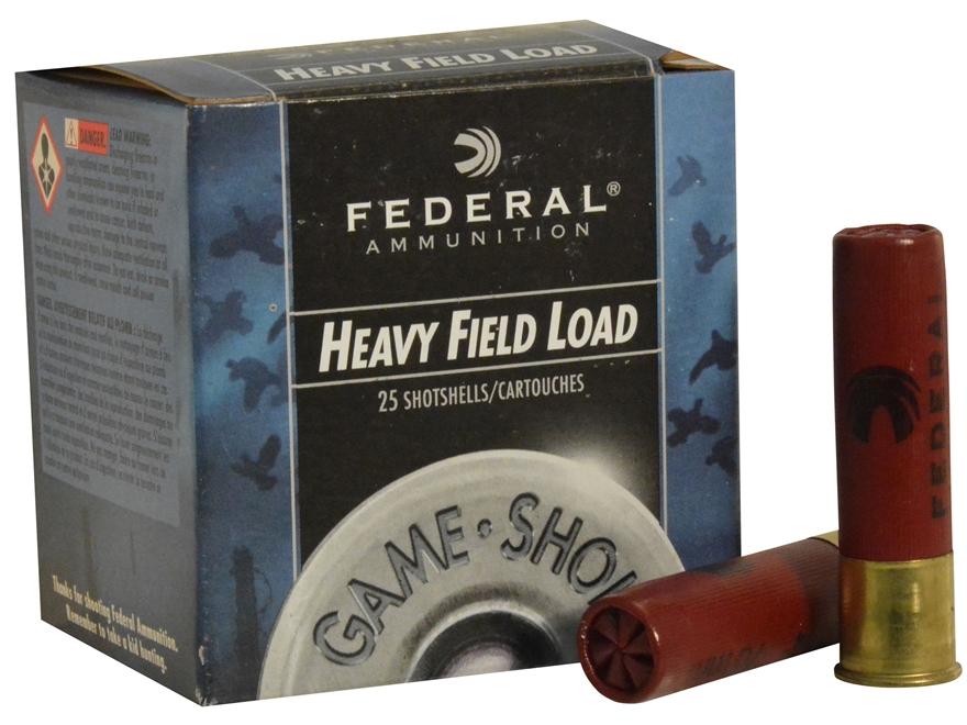 "Federal Game-Shok Heavy Field Load Ammunition 28 Gauge 2-3/4"" 1 oz #7-1/2 Shot Box of 25"