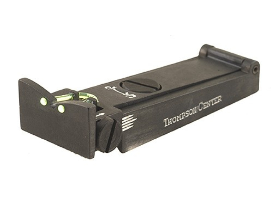 "Thompson Center Fiber Optic Rear Sight Muzzleloaders Octagon 1"" Barrels"