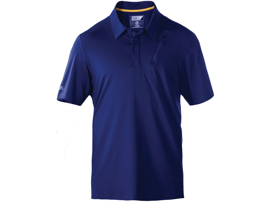 5.11 Men's Odyssey Polo Short Sleeve Polyester/Spandex Blend