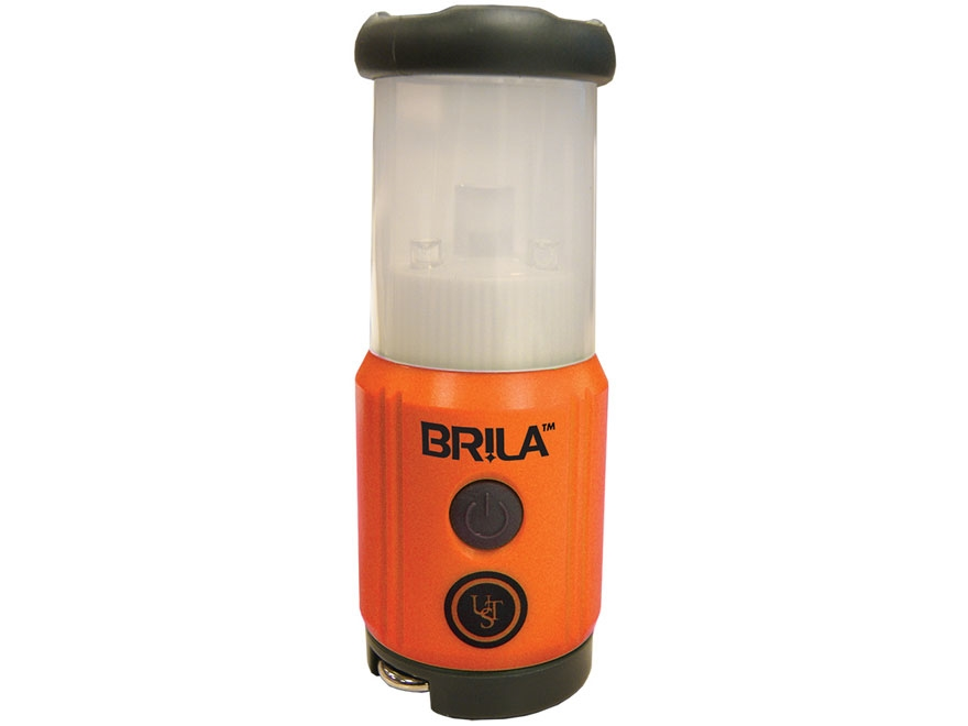 UST Brila Mini LED Lantern Requires 2 AA Batteries ABS Plastic Orange