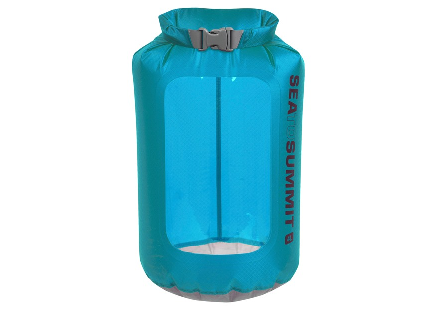 Sea to Summit Ultra-Sil View Dry Bag 4L Pacific Blue