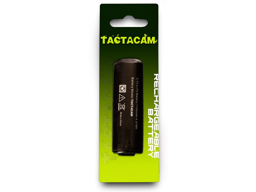TACTACAM 2.0 Action Camera Rechargeable Battery 3.7 Volt Lithium