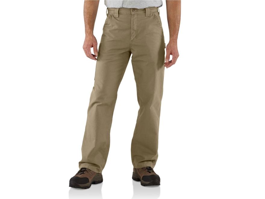 Carhartt Men's Canvas Work Dungaree Pants Cotton