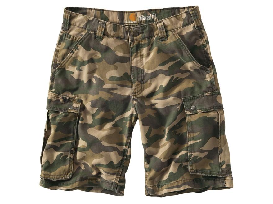Carhartt Men's Rugged Cargo Camo Shorts Cotton