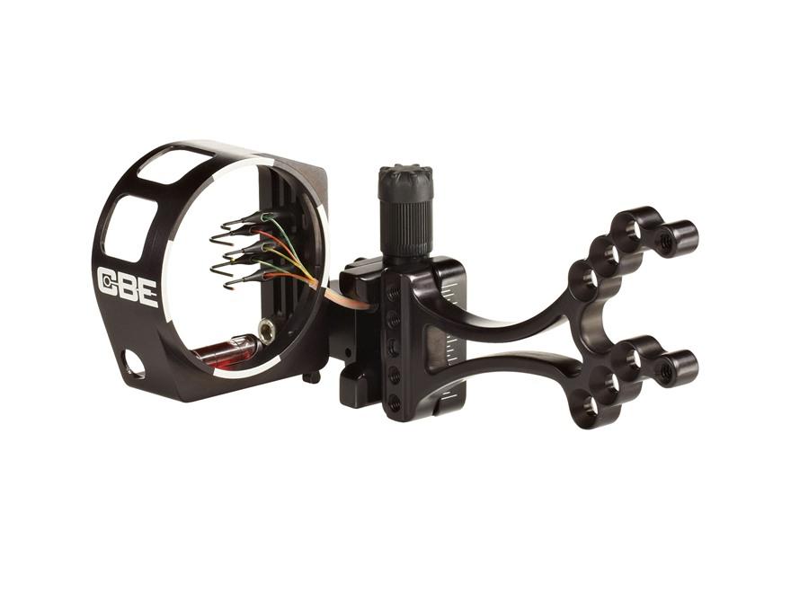Custom Bow Equipment Sniper Pro 5-Pin Bow Sight Right Hand Aluminum