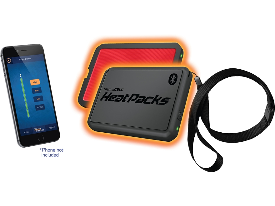 Thermacell Heat Pack Pocket Warmer with Bluetooth Pack of 1