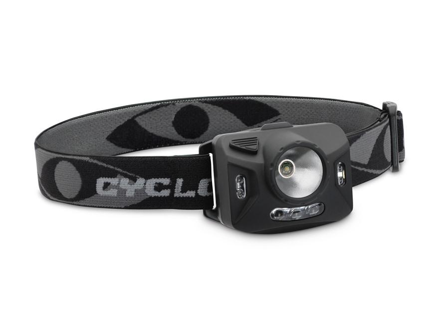 Cyclops Ranger XP Headlamp LED with 3 AAA Batteries Polymer Black