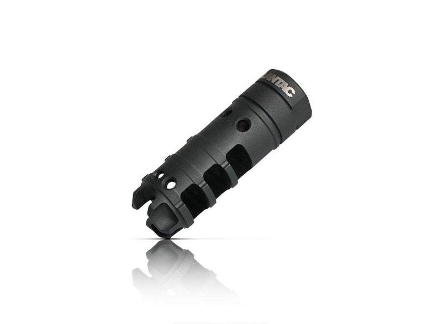 """LANTAC Dragon 7.62 Muzzle Brake 5/8""""-24 Thread LR-308, AR-10 Steel Nitride"""