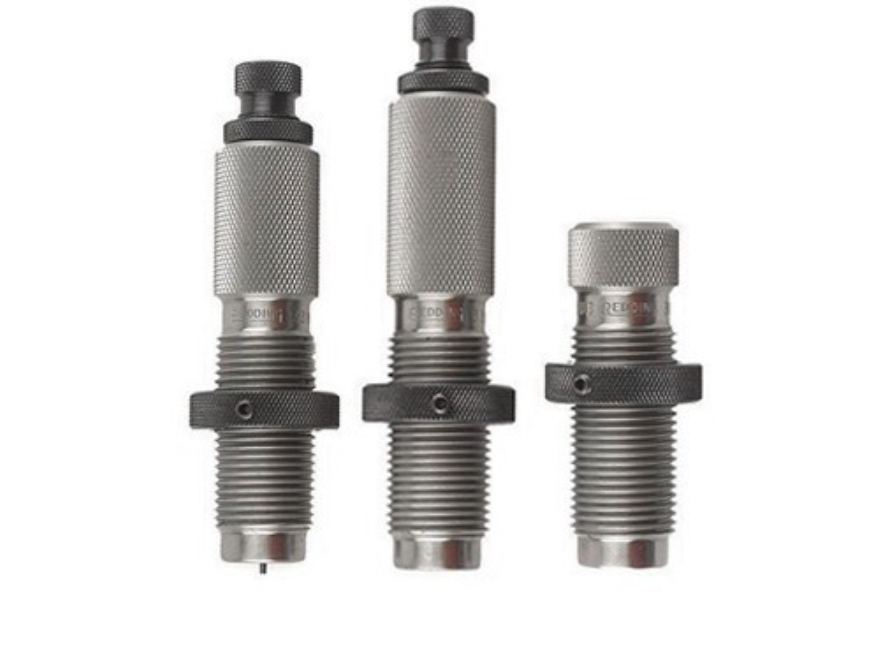 Redding Type S Bushing 3-Die Neck Sizer Set 6mm Remington Ackley Improved 40-Degree Sho...