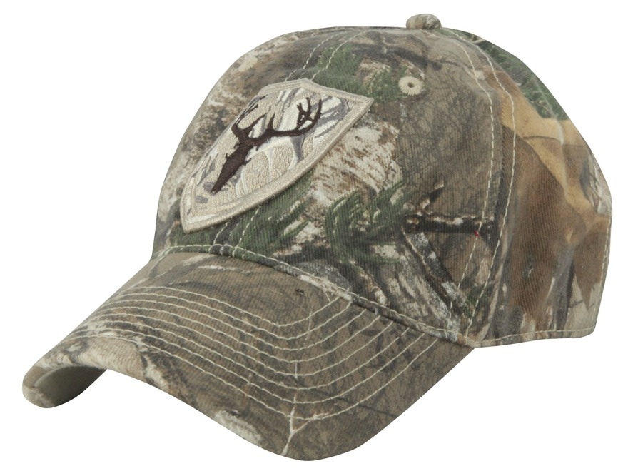 ScentBlocker Low Profile Cap Cotton Polyester Blend Realtree Xtra Camo