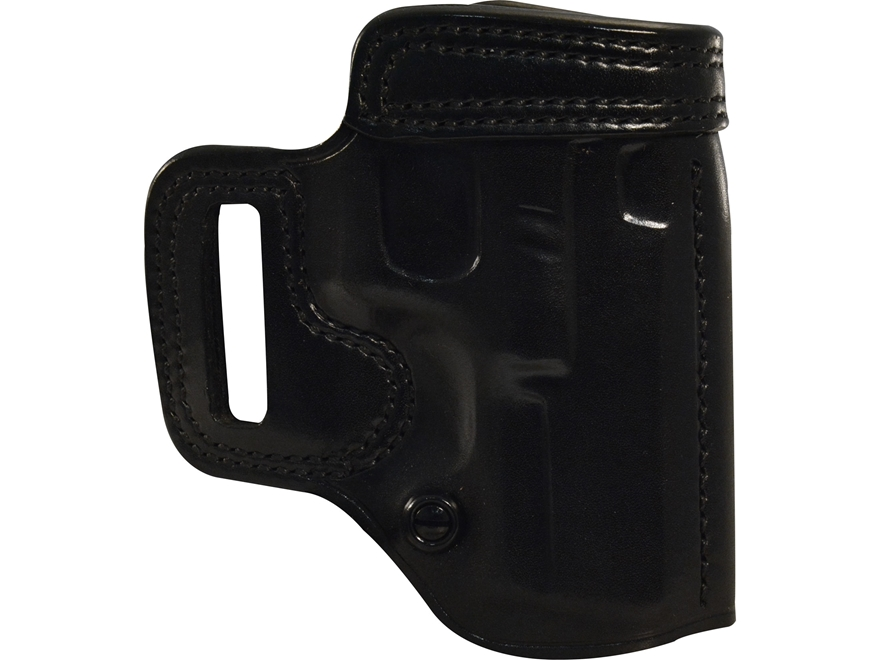 Galco Avenger Belt Holster Right Hand Glock 26, 27, 33 Leather Black