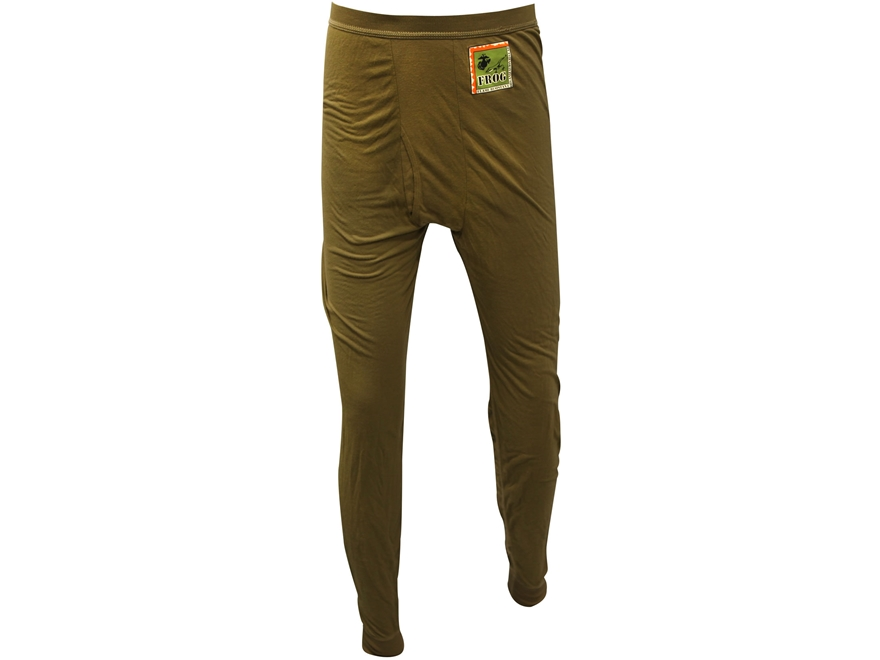 Military Surplus Silk Weight Base Layer Pants