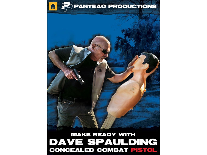 "Panteao ""Make Ready with Dave Spaulding: Concealed Combat Pistol"" DVD"