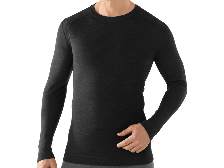 Smartwool Men's NTS Mid 250 Crew Long Sleeve Base Layer Shirt Merino Wool
