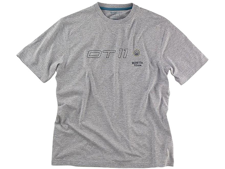 Beretta Men's DT11 Logo T-Shirt Short Sleeve Cotton