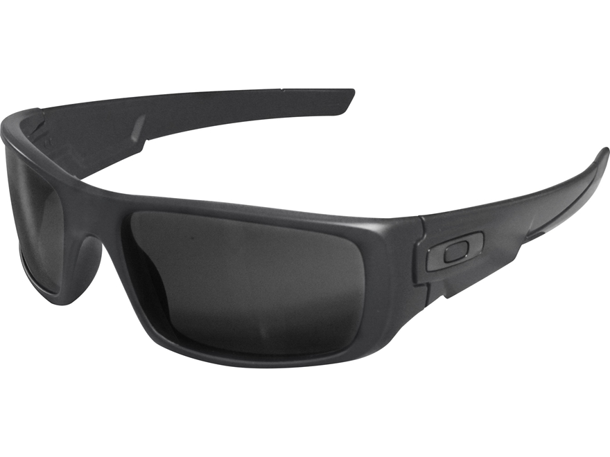 Oakley Crankshaft Sunglasses Matte Carbon Frame/Grey Lens