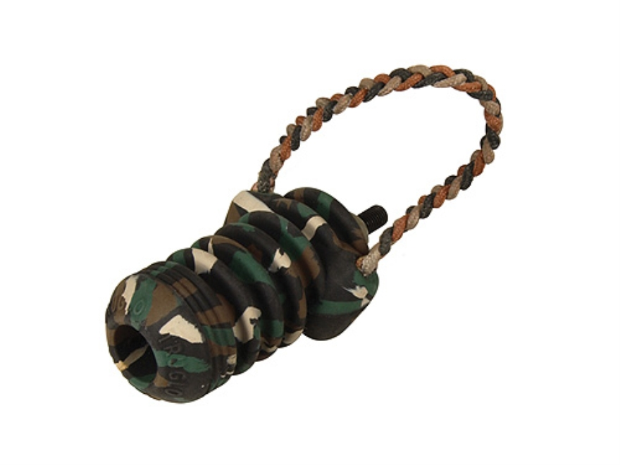"TRUGLO TRU-BLOCK Mini Bow Stabilizer with Sling 3-1/2"" Rubber Camo"