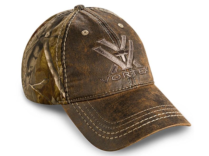 Vortex Optics Weathered Camo Hat Polyester Realtree Xtra Camo