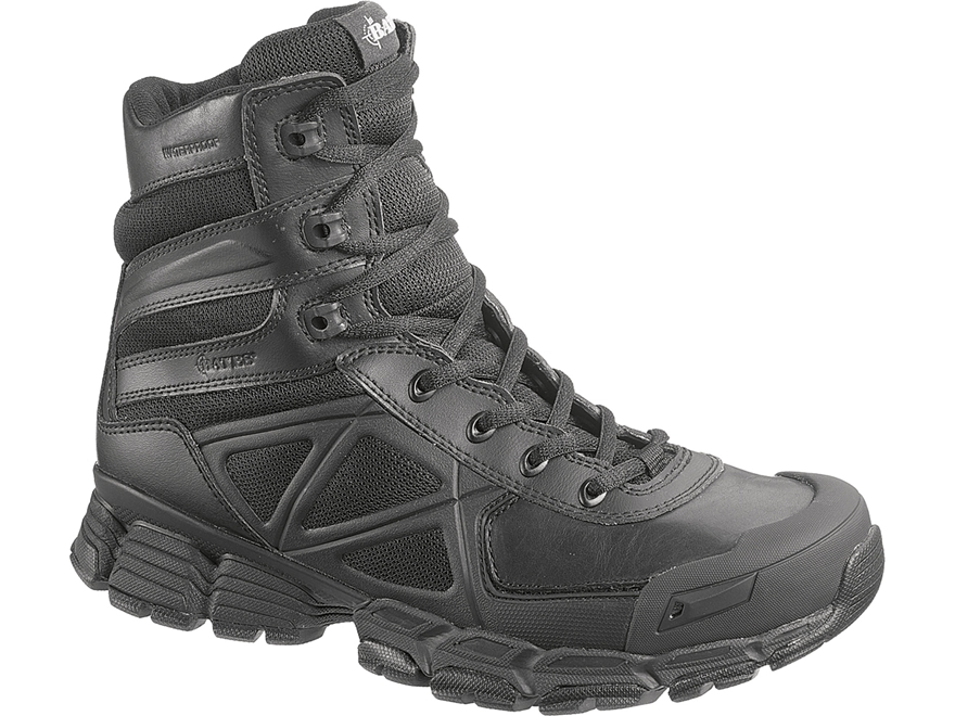"Bates Velocitor 8"" Waterproof Side-Zip Tactical Boots Leather/Nylon"
