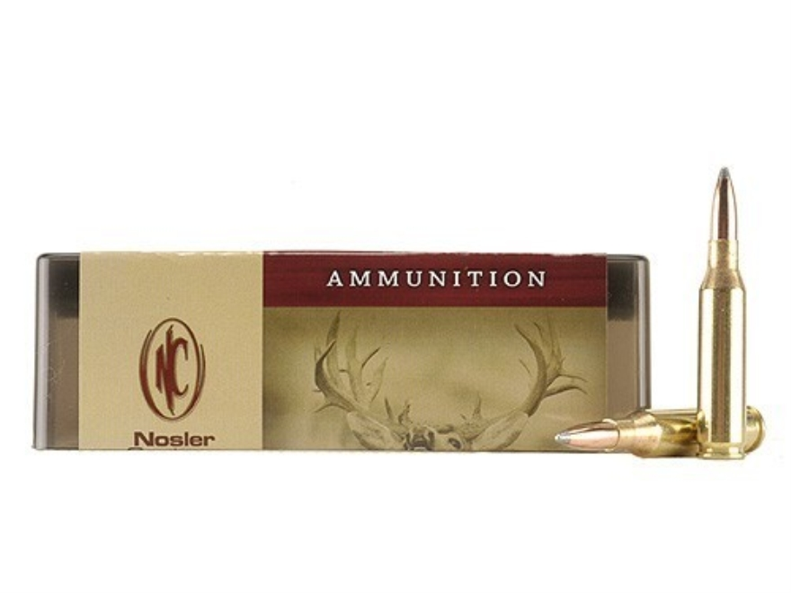 Nosler Custom Ammunition 260 Remington 100 Grain Partition Spitzer Box of 20