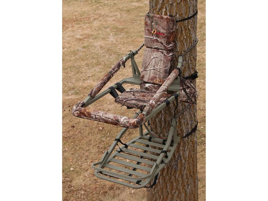API Outdoors Magnum Climbing Treestand Aluminum Realtree AP Camo