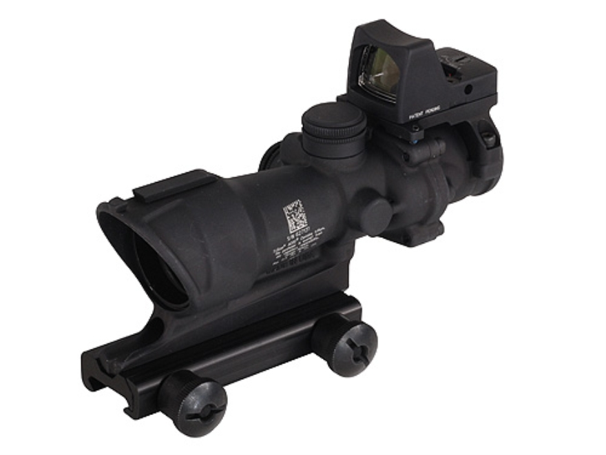 Trijicon ACOG TA01-M4A1-RMR Rifle Scope 4x 32mm Tritium Illuminated Amber Crosshair 223...