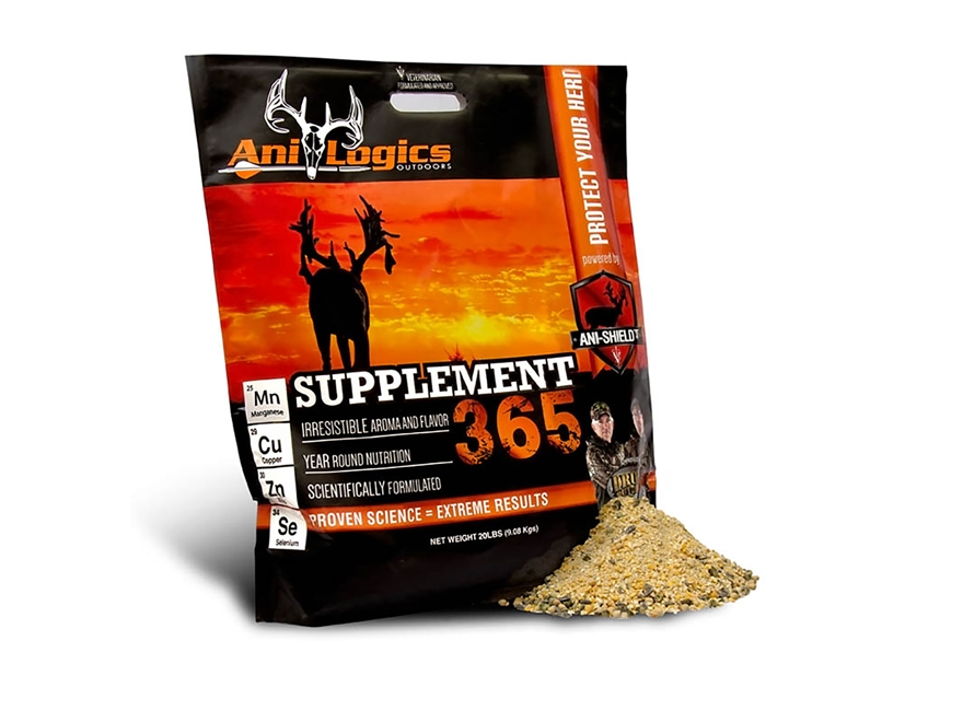 Anilogics Supplement 365 Deer Supplement in 20 lb Bags