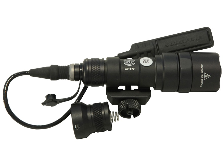 Surefire M300B Scout Light Weaponlight LED with 1 CR123A Battery Aluminum Black