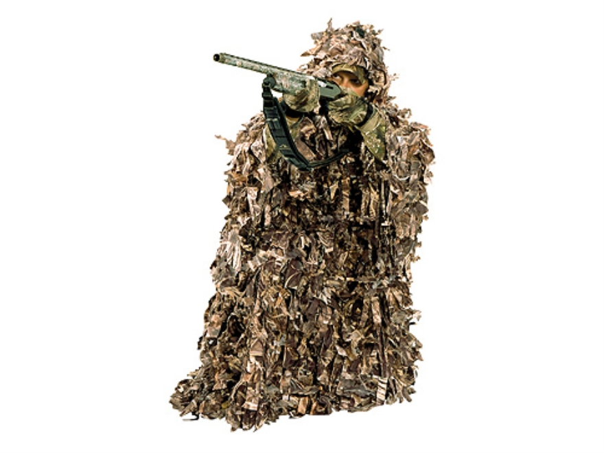 Ameristep 3-D Poncho Polyester Realtree Max-4 Camo