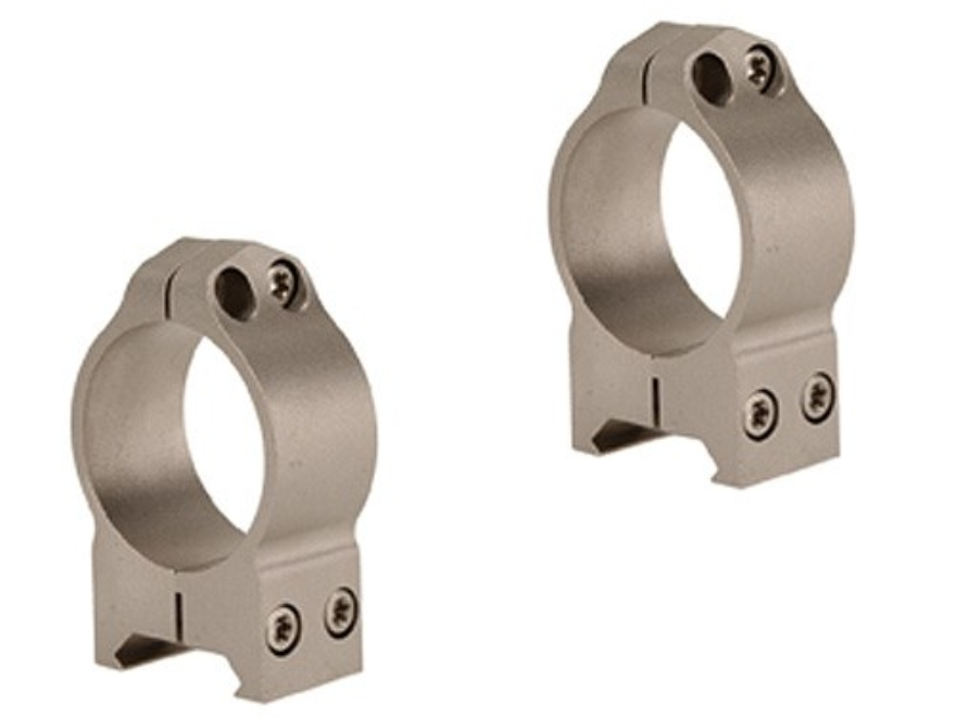 Warne 30mm Maxima Permanent-Attachable Weaver-Style Rings