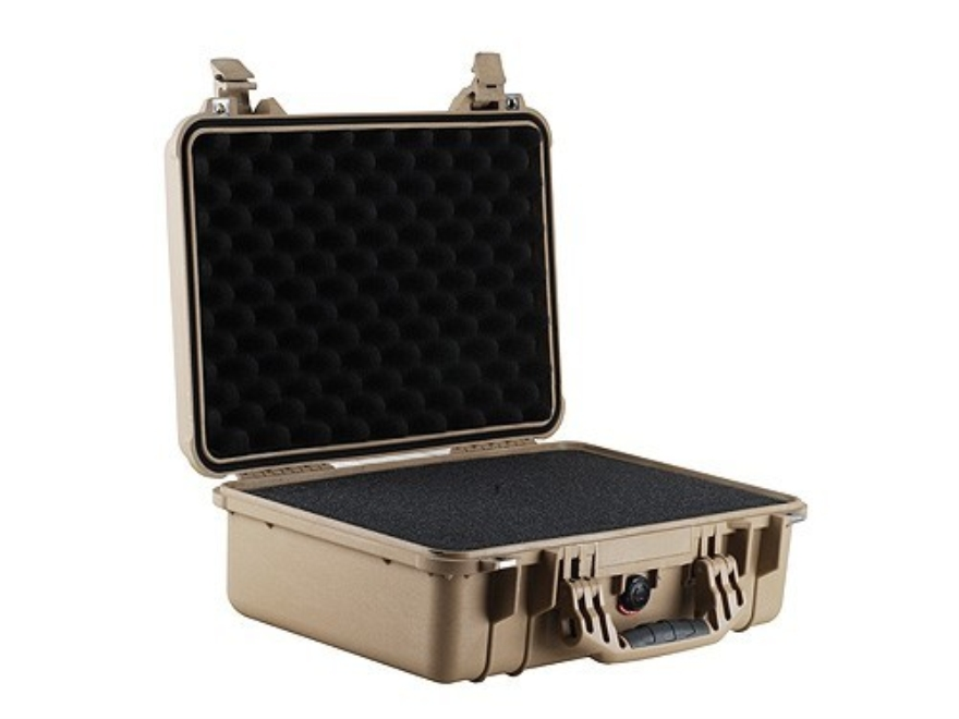 Pelican 1500 Pistol Case with Pre-Scored Foam Insert Polymer