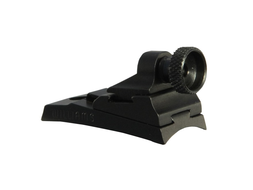 Williams WGRS-37 Aperature Rear Sight Ithaca 37, Browning BPS, Maverick 88 Aluminum Black
