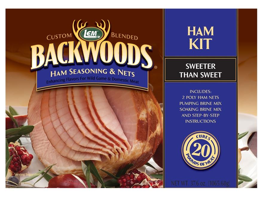 LEM Backwoods Ham Making Kit