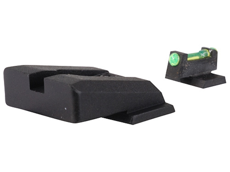 Novak Competition Sight Set S&W M&P Rear with Fiber Optic Front Green