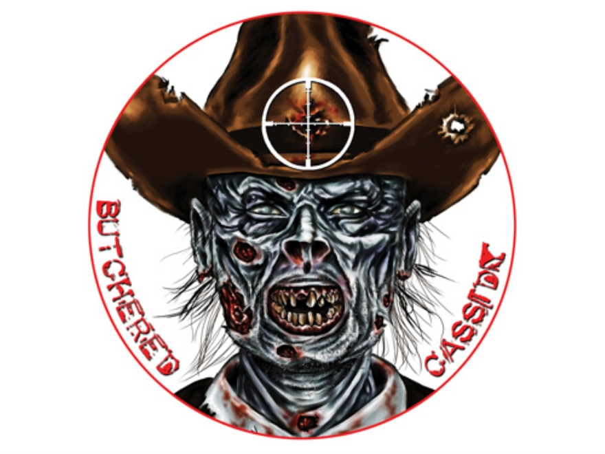 "Lyman Zombie Dot Butchered Cassidy Target 8"" Self-Adhesive Package of 10"