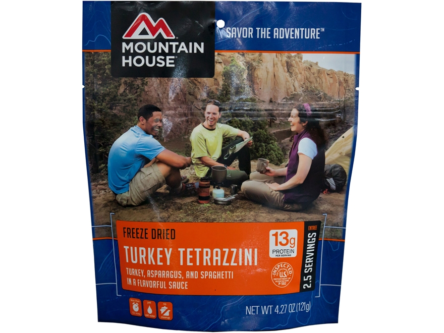 Mountain House Turkey Tetrazzini Freeze Dried Food 4.3 oz