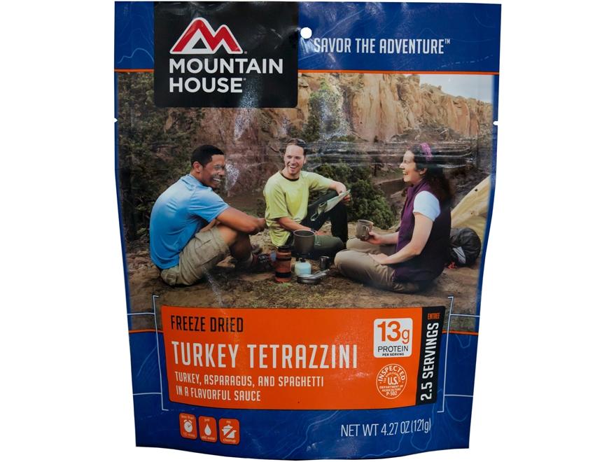 Mountain House Turkey Tetrazzini Freeze Dried Food 4.3 oz