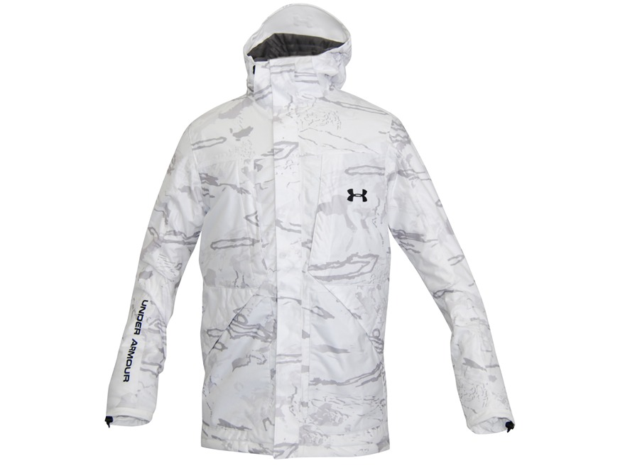 Under Armour Men's Gunpowder Scent Control Waterproof Insulated Jacket Polyester UA Sno...