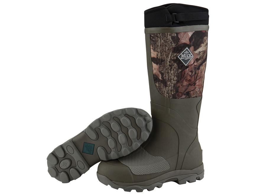 Muck Terrain Boots Rubber Nylon Mossy Oak Break-Up Infinity Camo Men's