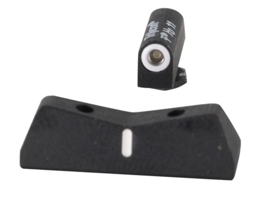 XS DXW Night Sight Set Glock 17, 19, 22, 23, 24, 26, 27, 31, 32, 33, 34, 35, 36 Steel T...