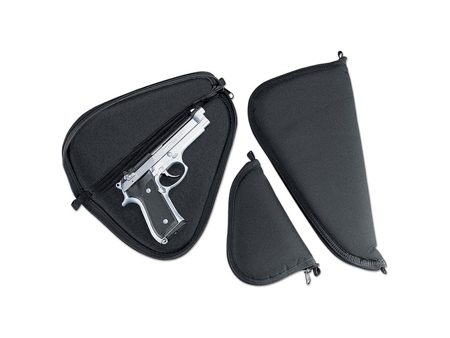 "Uncle Mike's Pistol Case 11"" Black"