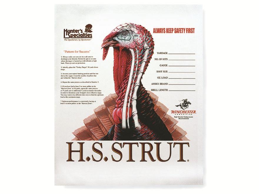 H.S. Strut Turkey Target Pack of 12