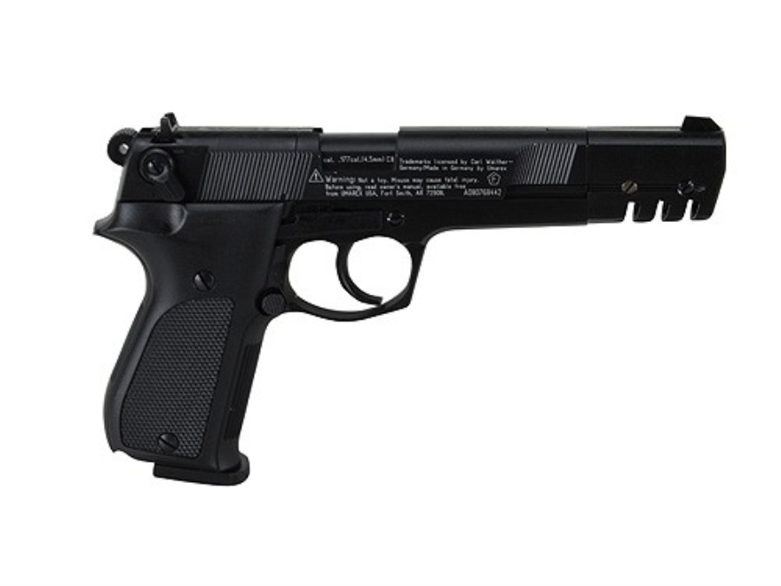 Walther CP88 Competition Air Pistol 177 Caliber Pellet Blue