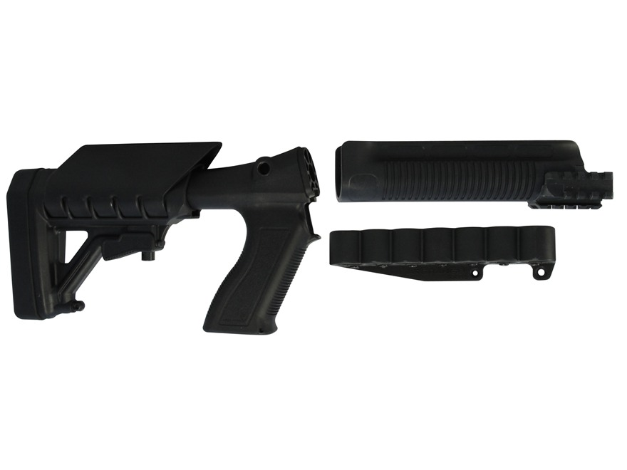 Archangel 870SC Tactical Shotgun Stock System Remington 870 with Receiver Mount Shell C...