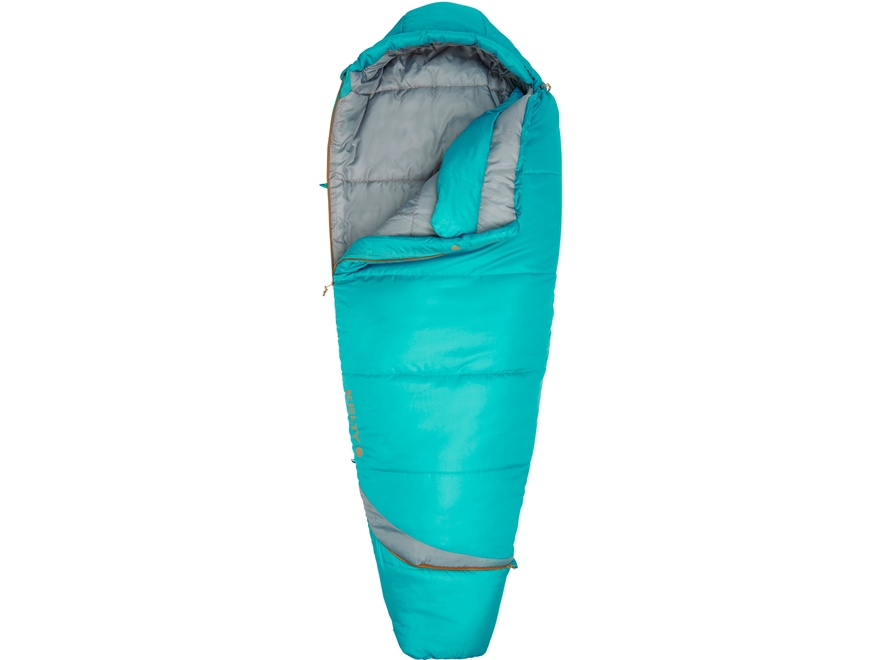 Kelty Tuck 20 Degree Women's Sleeping Bag Polyester Latigo Bay