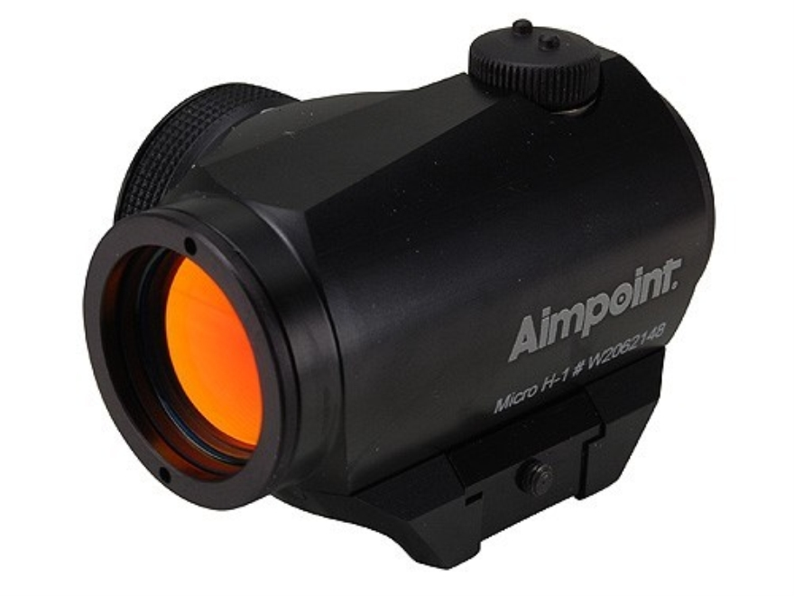 Aimpoint Micro H-1 Red Dot Sight with Weaver-Style Mount Matte